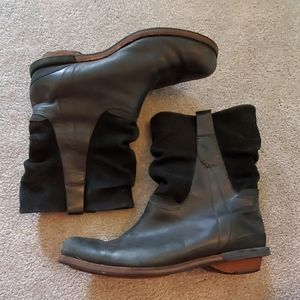 Patagonia addie leather and suede slouch boots 7.5